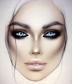 Improve makeup with these mac makeup foundation Advert# 7540 Mac Makeup Looks, Best Mac Makeup, Eye Makeup Tips, Makeup Inspo, Best Makeup Products, Beauty Products, Latest Makeup, Lime Crime Makeup, Makeup Face Charts