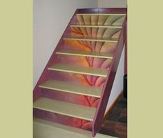stair risers Site Specific by Ina Kozel