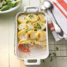 Weight watchers - Ovenschotel met aardappel en tomaat – 9pt