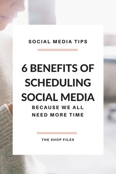 Benefits of Scheduling Social Media for Small Businesses.Plus the tools I recommend to help you get it done. / Tips for Scheduling Social Media