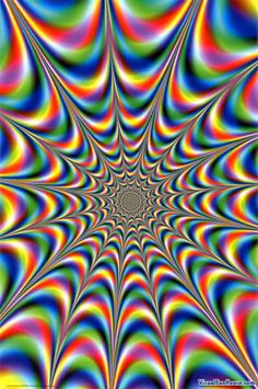 Throbbing Fractal, stare into the center and be prepared for a trippy visual.