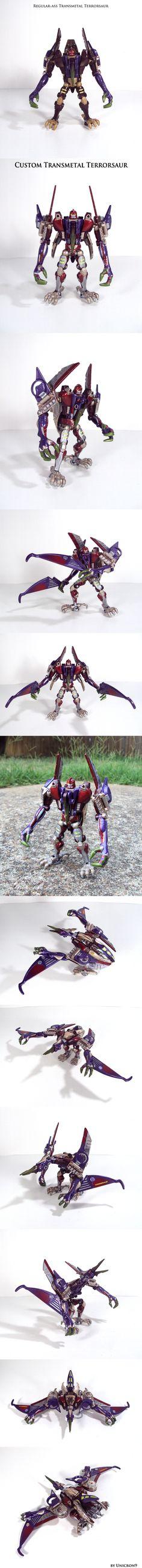 Transmetal Terrorsaur by Unicron9 on DeviantArt