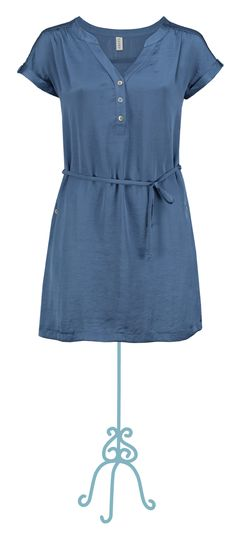 Tunic Kate steel blue - Collectie