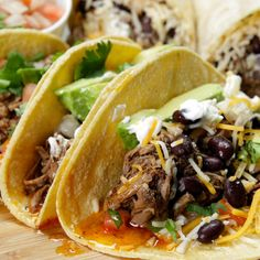 Barbacoa-Style Beef Tacos You Can Make In Your Slow Cooker Posted by Tasty on Sunday, 8 November 2015 These Tacos looks absolutely delicious and fairly easy to make. INGREDIENTS (Serves 8-10) 3-4 lb Beef Chuck Roast4 Chipotles in Adobo Sauce - Chopped5... Read More