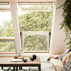 VELUX CABRIO® balkonvenster | VELUX dakramen