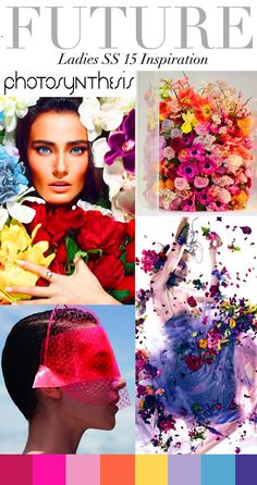 colour, ss15 fashion, photosynthesi, floral prints, ss15 inspir, ss15 trend, trend council ss15