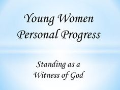 Personal Progress Power Point Presenation