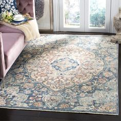 You'll love the Soren Cream/Blue Area Rug at Wayfair - Great Deals on all Rugs products with Free Shipping on most stuff, even the big stuff.