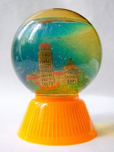 Pisa, Italy [snow globe] by Vaguely Artistic, via Flickr