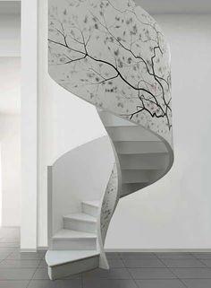 Decorative Staircase Design Ideas from Edilco 06