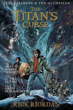 Lightning thief series book 4