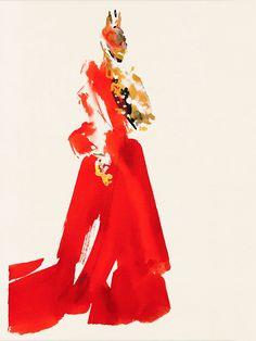 #auroredelamorinerie #plume #pen #ink #drawing #dessin #line #ligne #smoking #maisonmartinmargiela #martinmargiela #margiela #mmm #margielafashionshow #fashionshow #fashion #fashiondrawing #défilé