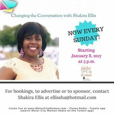 Changing the Conversation with Shakira Ellis radio show