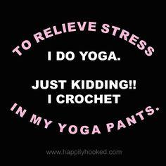 Knitting Quotes, Knitting Humor, Crochet Humor, Funny Crochet, Crochet Yarn, Crochet Stitches, Crochet Throws, Crochet Mandala, Crochet Afghans