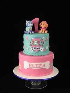 Image result for paw patrol pink cakes