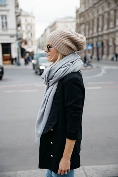 Casual Edgy Fall Style | Beanie for Fall