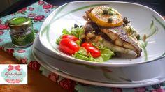 Cozinha Simples da Deia: Bacalhau Fresco Com purê de banana da Terra