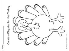 Whether your children decide to make a unicorn turkey disguise or something else, this STEAM project includes a printable turkey and planning document.
