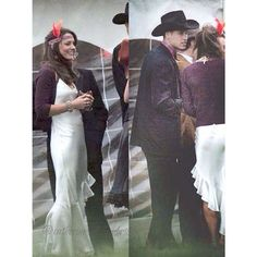 William and Kate dressed up at a university party.