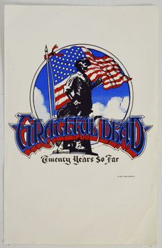 """Grateful Dead Years So Far"""" Handbill with Lyrics - Grateful Dead 20 Years So Far Handbill with Lyrics Hercule Poirot's Christmas, David Lemieux, Grateful Dead Poster, My Favorite Music, My Favorite Things, Rock Band Posters, Poster Pictures, Dancing In The Rain, Vintage Music"""