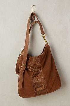 Fenja Embossed Hobo Bag #anthropologie