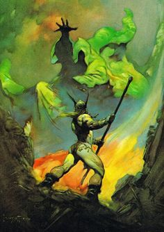 'The Norseman' by Frank Frazetta                                                                                                                                                                                 More