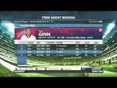 Madden NFL 12 Buffalo Bills - Franchise Year 1 - Off Season - NFL Draft 2013 - Bills Difficulty Pro