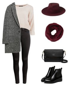 """""""Untitled #12"""" by ifyouwnt on Polyvore featuring H&M, WithChic, Kate Spade, Whistles, Zara and BCBGMAXAZRIA"""