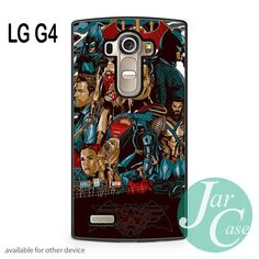 Batman V Superman Comic Art Phone case for LG G4 and other cases
