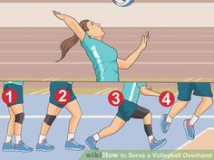 Image titled Serve a Volleyball Overhand Step 10 Natalia Malaga: Willpower & Eagerness! Beach Volleyball, Volleyball Serve, Volleyball Tryouts, Volleyball Skills, Volleyball Practice, Volleyball Outfits, Coaching Volleyball, Volleyball Pictures, Volleyball Hairstyles