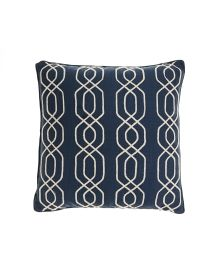 Exclusively Ours - Marble Hill Rope on Canvas PIllow, Main View #SteinMart
