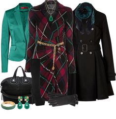 """GUCCI Vintage Dress"" by annette1018 ❤ liked on Polyvore"