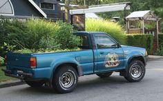 The Truck Farm really fits in at the Teahouse in Stanley Park.