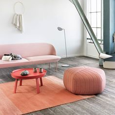 Muuto Five Pouf with a contemporary and comfortable design. the Five Pouf can act as a decorative item in the corner of any room or extra sitting for visitors. Milan Design Week 2017, Modern Ottoman, Ikea, Decoration, Design Trends, Furniture Design, Home Decor, Magazine Racks, Funny Note