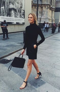 the perfect french classy&sexy look