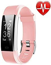 LETSCOM Fitness Tracker HR, Activity Tracker Watch with Heart Rate Monitor, Waterproof Smart Fitness Band with Step Counter, Calorie Counter, Pedometer Watch for Kids Women and Men. Choice of Colors. Lower Belly Fat, Reduce Belly Fat, Activity Tracker Watch, Cartier Panthere, Calorie Counter, Fitness Activities, Heart Rate Monitor, Fitness Tracker, Online Shopping