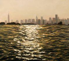 """Saatchi Art Artist Patty Neal; Painting, """"NY, NY"""" #art"""