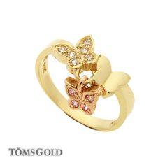 I love this little ring.  14K Little Ring 1228