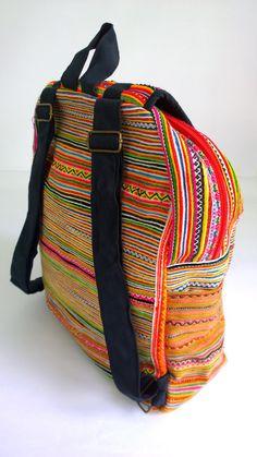 405c0ca789d Boho borduurwerk tas Hmong rugzak etnische rugzak door pasaboho Boho,  Fashion Backpack, Fashion Design