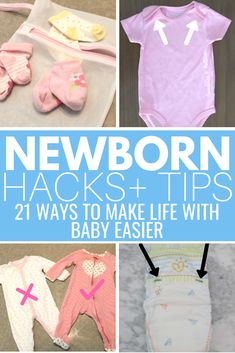 Newborn hacks and tips every mom should know! These make life with baby so much easier! Breastfeeding hacks, diapering hacks, organizing hacks and so much more! naissance part naissance bebe faire part felicitation baby boy clothes girl tips The Babys, Newborn Baby Tips, Newborn Care, Caring For A Newborn, Boy Newborn, Infant Care, Mama Baby, Baby Kind, Baby Love