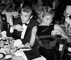 """508 Likes, 5 Comments - Butch Wax Vintage (@butchwaxvintage) on Instagram: """"#JamesDean and #UrsulaAndress on a date. Dean met her when she was 19 and dating Marlon Brando. A…"""""""