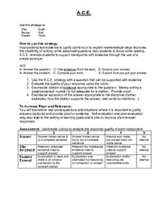 modified essay question format