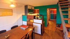 Apartment in Le Corbusier's Unité d'Habitation Renovated to Original Design by Philipp Mohr