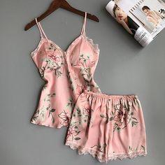 Satin Sleepwear, Satin Pyjama Set, Sleepwear Sets, Satin Pajamas, Sleepwear Women, Pajama Set, Night Pajama, Nightwear, Sexy Pajamas