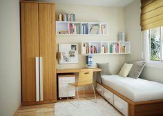 Small Bedroom Hacks, Small Bedroom Designs, Small Room Decor, Decor Room, Bedroom Decor, Home Decor, Bedroom Furniture, Teen Bedroom, Furniture Ideas