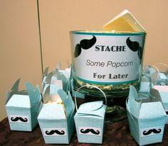 Mustache Themed Baby Boy Shower