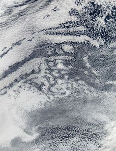 People want to see patterns in the world. It is how we evolved Satellite photos of actinoform clouds Title: Benoît Mandelbrot Free Photos, Free Images, Art Grunge, Image Cloud, Motifs Textiles, Textile Prints, Textile Art, Ocean Colors, Earth From Space