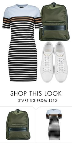 """""""Untitled #4541"""" by beatrizvilar on Polyvore featuring Maison Margiela, T By Alexander Wang and Yves Saint Laurent"""