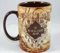 Harry Potter Marauder's Map Mug - http://geekarmory.com/harry-potter-marauders-map-mug/