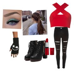 Untitled #4 by scarlero on Polyvore featuring polyvore, fashion, style, Motel and River Island